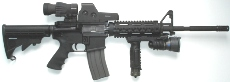 AR-15 Rifle, Bushmaster Tactical M4 Package